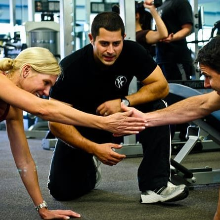 Couples Fitness Training Abbotsford Private Gym Training Studio Personal Trainer